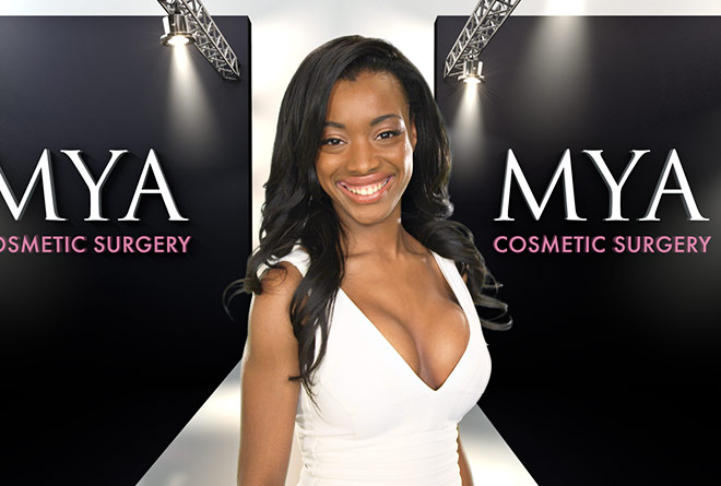 Mya Cosmetic Surgery Catwalk